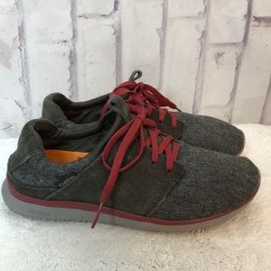 Cushe Getaway Gray Wool Lace Up Sneakers